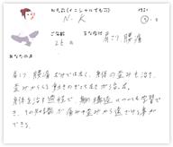 N.Kさん 26歳 男性