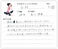 Y.Mさん 28歳 女性